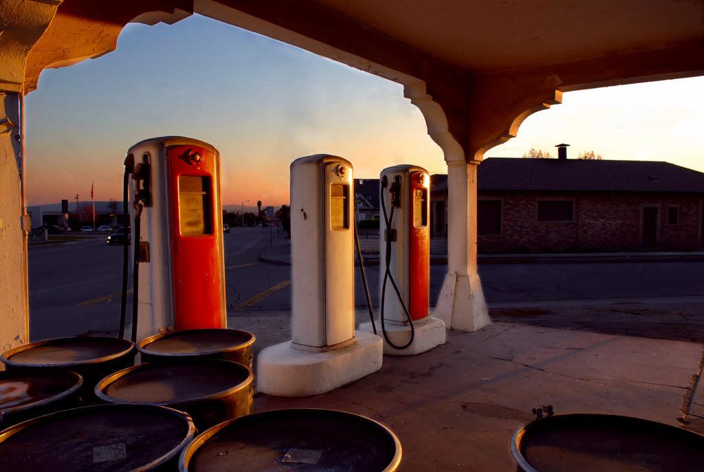 Monrovia CA Highway 66 Gas Station