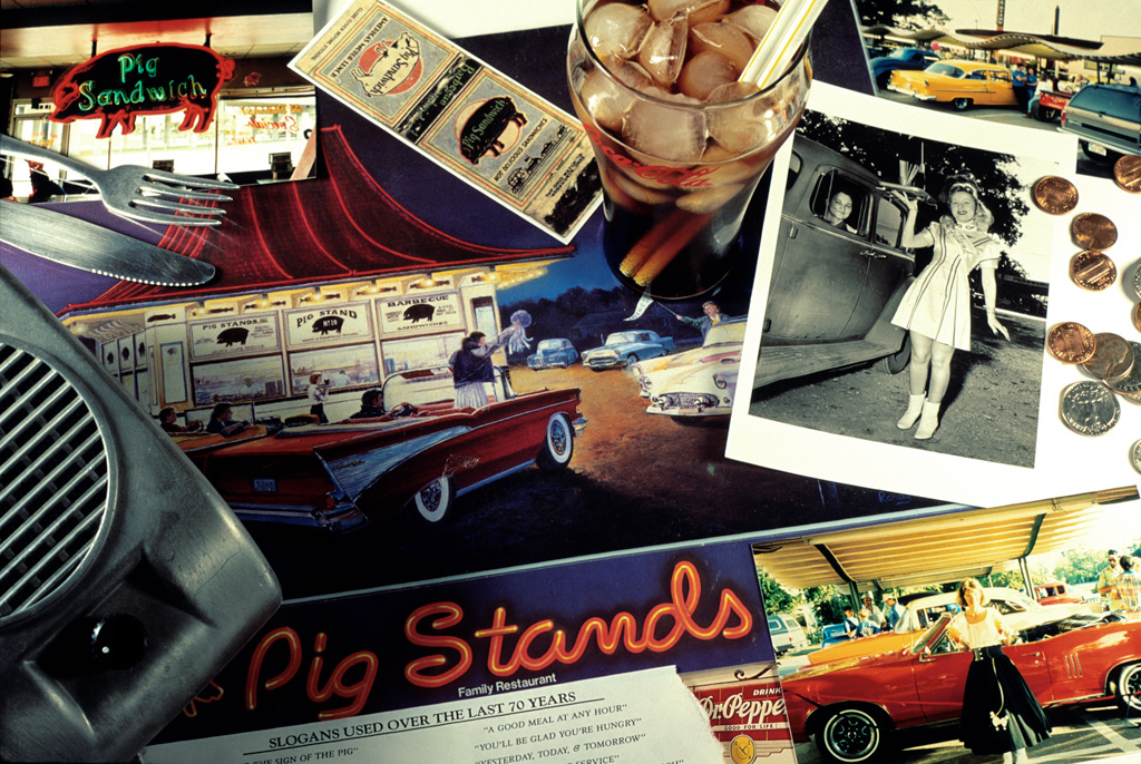 The Texas Pig Stands Drive‐In