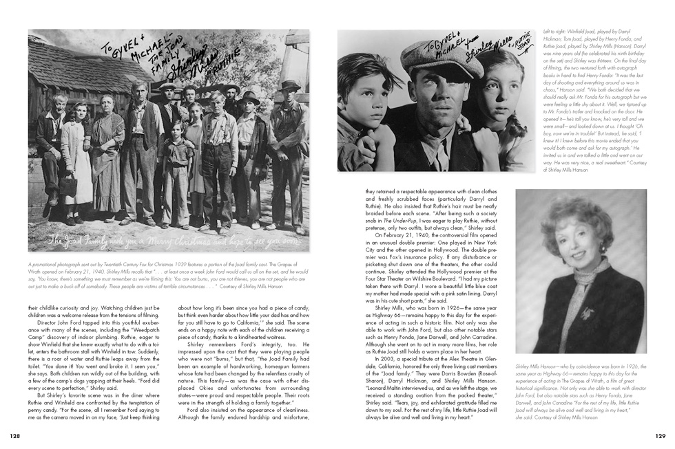 Ruthie Joad Profile Two