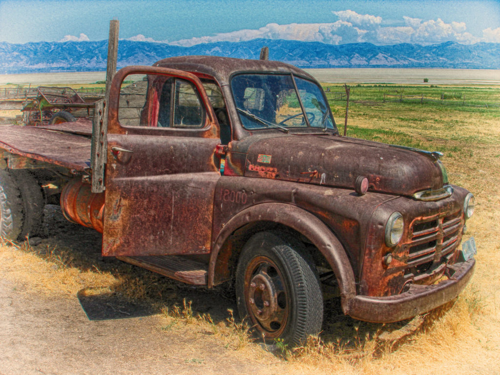 Abandoned 1948 Dodge Pickup Truck