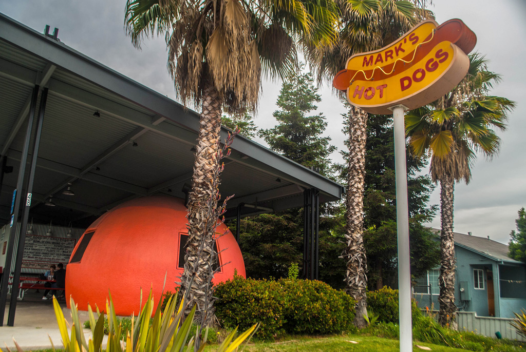 Mammoth Orange Drive-Ins